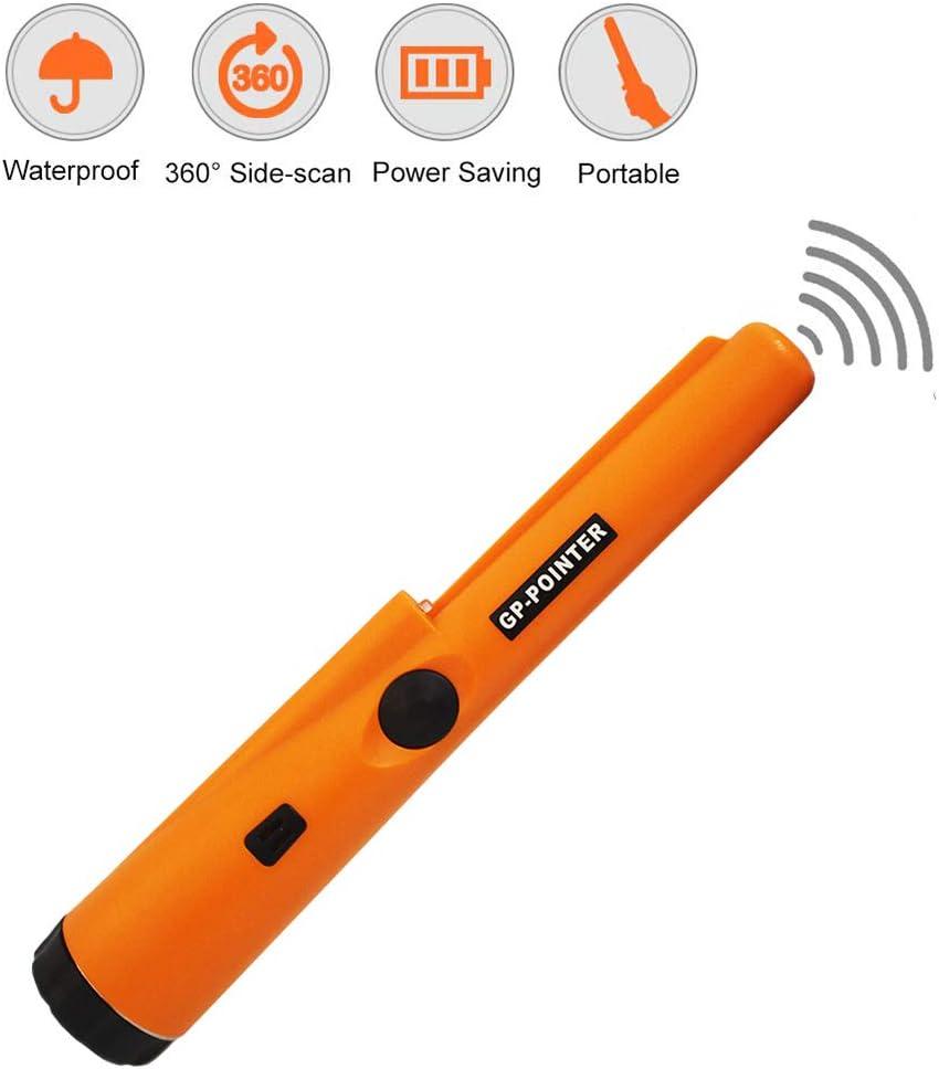 Metal Detector Pinpointer GP-pointer Waterproof Hand Held Gold Hunter Finder LED