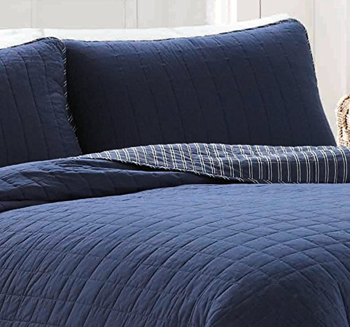Nautica Maywood Cotton Quilt Set Full Queen Indigoquilts