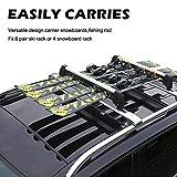 Barbella Car Rack & Carrier Ski Car Racks Aluminum