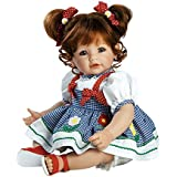 """Adora Toddler Daisy Delight 20"""" Girl Weighted Doll Gift Set for Children 6+ Huggable Vinyl Cuddly Snuggle Soft Body Toy"""