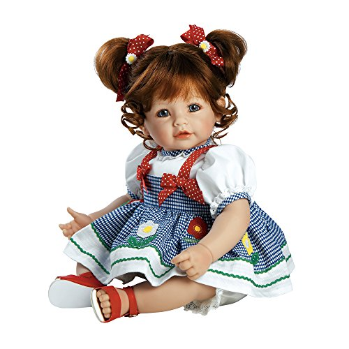 "Adora Toddler Daisy Delight 20"" Girl Weighted Doll Gift Set for Children 6+ Huggable Vinyl Cuddly Snuggle Soft Body Toy"
