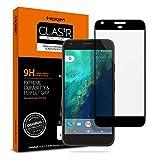 Spigen Tempered Glass Google Pixel Screen Protector [ Case Friendly ] [ Maximum Protection ] for Google Pixel (2016 Release) - Black