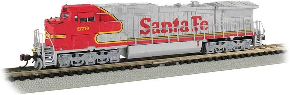 GE Dash 8-40CW サウンドバリュー装備機関車 - サンタフェ #879 - Nスケール B07BR7ZN49
