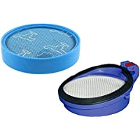 Techypro Kit for Dyson Dc25 Washable & Reusable Pre & Post Filter, Replacement Kit Fit for Dyson Dc25 Uprights; Compare to Part # 916188-05 (not Compatible for dc24 and DC25 Animal)