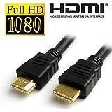 Cable HDMI Premium 1.4V 3D Alta Velocidad Ultra HD Resolución FULL HD 1080P Plomo 150CM Calidad Alta definición