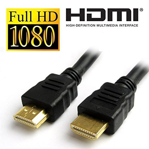 Cable HDMI Premium 1.4V 3D Alta Velocidad Ultra HD Resolución FULL HD 1080P Plomo 150CM