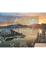 Be Not Afraid Bible Verse Wall Calendar 2022