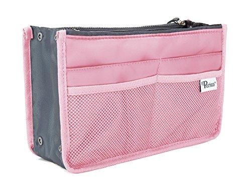 Periea Handbag Organizer - Chelsy (Large, Pink)