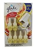 Glade Plugins Red Honeysuckle Nectar 1 Warmer Plus 6 Refills
