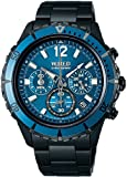 WIRED THE BLUE Chronograph Men's Watch - AGAW430 (Japan Import)