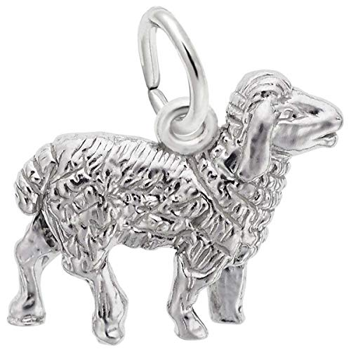 (Rembrandt Charms Sheep Charm, Sterling Silver )