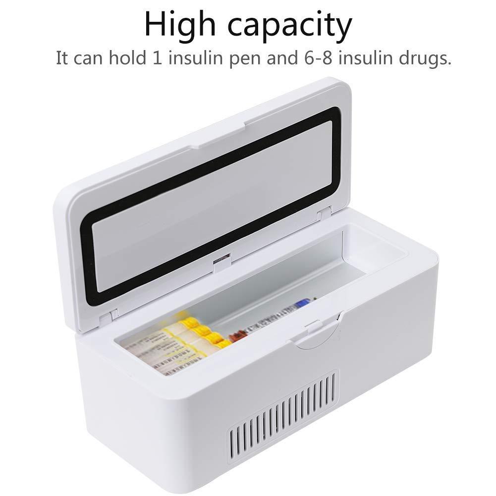 Febelle Estuche refrigerador de insulina portátil Caja ...