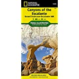 Canyons of the Escalante [Grand Staircase-Escalante National Monument] (National Geographic Trails Illustrated Map)