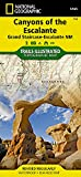 Canyons of the Escalante [Grand Staircase-Escalante National Monument] (National Geographic Trails Illustrated Map (710))