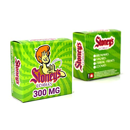 EMPTY Stoney's Edibles Display Boxes Retail Packaging for Stores 3 x 3