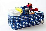 Diaper Caddy Organizer - Large Nursery Storage Tote