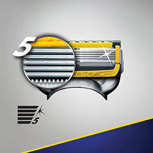 Gillette Fusion5 ProShield Men's Razor Blades, 8 Blade Refills