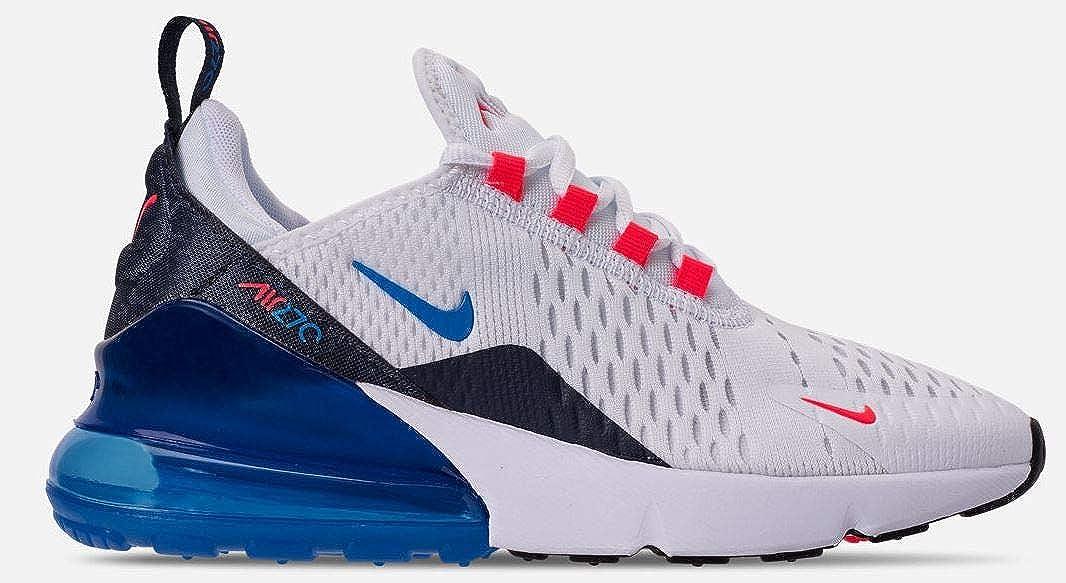 best sneakers 94720 bd81b Amazon.com | Nike Air Max 270 Bg Big Kids Bq5776-101 Size 5 ...