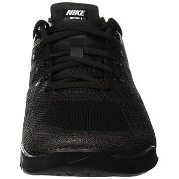 Nike Metcon 3 Size 8 Mens Cross Training Black Black Shoes
