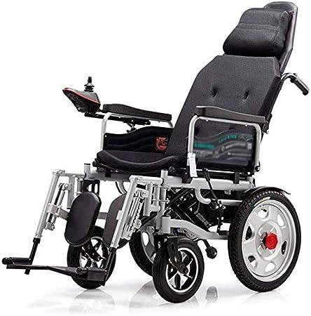 Plegable eléctricamente auto-Tang Tang en silla de ruedas personas mayores inteligentes portátiles con discapacidad,Black