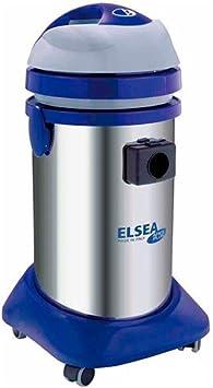 Elsea – Aspirador de agua y polvo 37 L, acero inoxidable – 230 V ...
