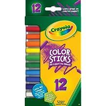 Crayola Color Sticks Woodless Colored Pencils-12/Pkg Short