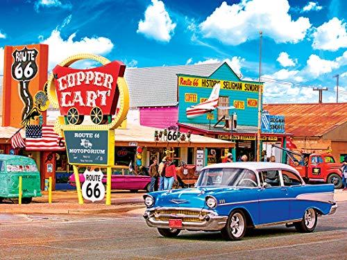 - Kodak Premium Puzzles Seligmans, Route 66, Arizona 550 pc Jigsaw Puzzle