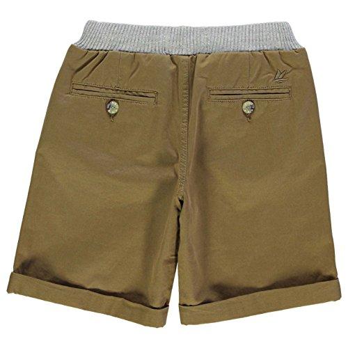 Soulcal Cal Surcado Waist Chino Shorts Pantalones Cortos Cierre De Cordón Ropa Coffee
