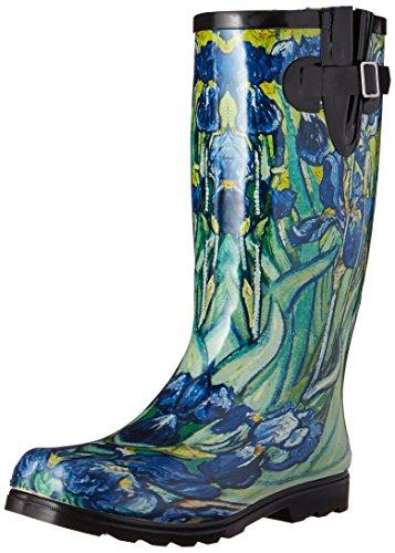 - Nomad Women's Puddles Rain Boot, Iris, 8 M US