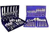King International Stainless Steel & Copper Cutlery with Velvet Box