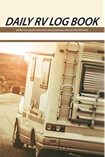 the rv log book and journal howard elmer 9781552850169 amazon com