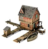 Hobbit Strategy Battle Game: Lake Town House terrain