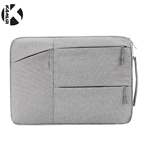 Kamlui grey laptop computer sleeves 14'' for Dell Inspiron