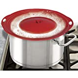 Boil Over Safeguard – Silicone Lid Stops Pots and Pans from Messy Spillovers, Appliances for Home