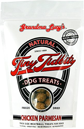 Grandma Lucy's - Tiny Tidbit Chicken Parmesan Dog Treats - 6Oz