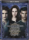 The Twilight Saga: Extended Edition Triple Feature [DVD + Digital]