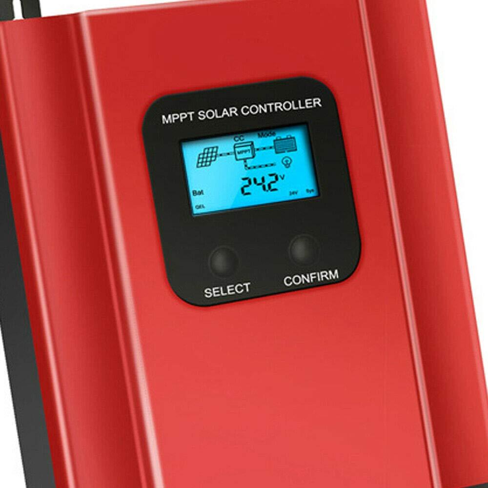 48V LCD-Anzeige 12V 36V 24V DiLiBee MPPT Solar Laderegler Solarladeregler 60A
