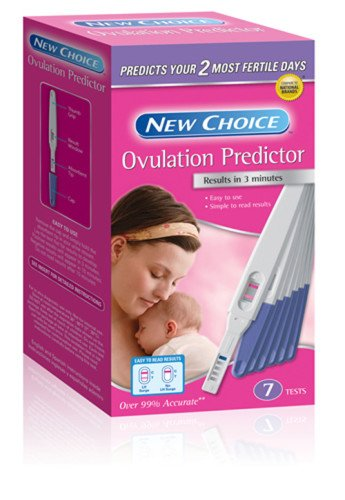 New Choice Ovulation Predictor, Midstream Pack of 100