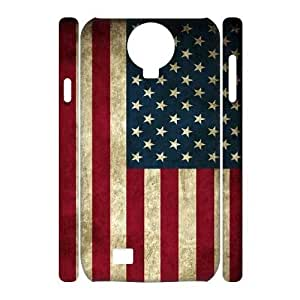 American Flag Brand New 3D Cover Case for SamSung Galaxy S4 I9500,diy case cover ygtg-773205
