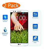 LG G5 Screen Protector, KingAcc(TM) 2-Pack LG G5 Tempered Glass Screen Protector Film With 3D Touch 9H Hardness Bubble Free Anti-Scratch for LG G5