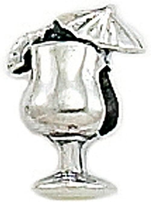 Zable Sterling Silver Pina Colada Bead//Charm