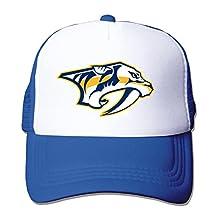 Unisex Hiphop Nashville Predators Baseball trucker mesh Hat (5 colors)