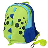 Yodo Upgraded Kids Insulated Toddler Backpack with Safety Harness Leash and Name Label - Playful Preschool Lunch Boxes Carry Bag, Dinosaur