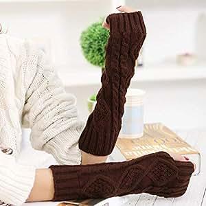 Amazon.com: Autumn Water Women Winter Gloves Fingerless