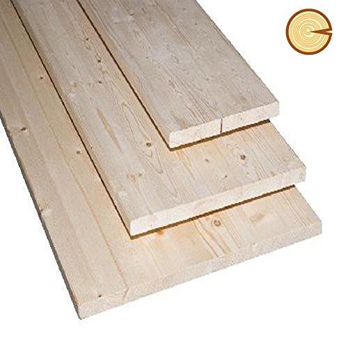 pannello / tavola lamellare abete 40 mm dim. 70 x 200 cm (pz.1)