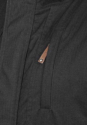 9000 Black para Hombre De Capucha Solid Chaqueta Entretiempo con Abrigo Bellippo BxvRqA