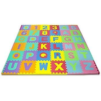 Amazon Com Imaginarium Alphabet Amp Numerals 36 Foot Foam