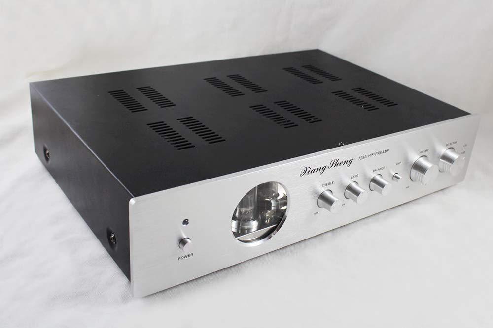 XiangSheng 728A Pre-Amplifier Tube preamplifier Shigeru WADA Japan Electrical Circuit Preamp Upgrade (Silver)
