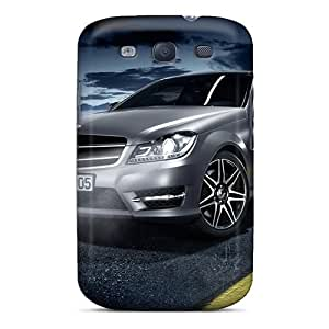 For Galaxy S3 Premium Tpu Case Cover Mercedes C Class Coupe Amg Protective Case