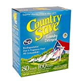 Country Save HE Laundry Detergent, Powder, 160-Load, 10-lb Boxes (Pack of 4)